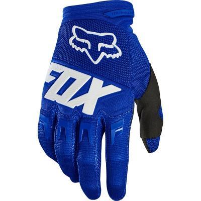 Купить Мотоперчатки Fox Dirtpaw Race Glove Blue/White M