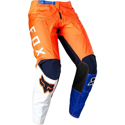 Купить Мотоштаны Fox 180 Lovl SE Pant Orange/Blue W32