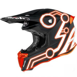 Шлем для эндуро и кросса Airoh Twist 2.0 Neon Orange Matt