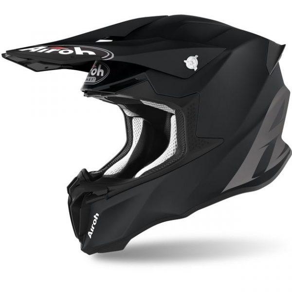Шлем для эндуро и кросса Airoh Twist 2.0 Color Black Matt.