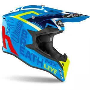 Шлем для эндуро и кросса Airoh Street Azure Gloss.