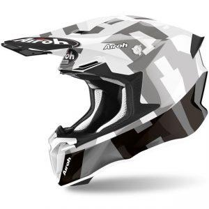 Шлем для эндуро и кросса Airoh Twist 2.0 Frame Grey Gloss.