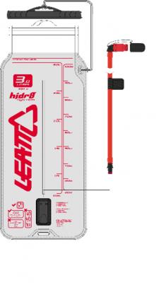 Купить Гидропак Leatt Flat Cleantech Bladder Pack 3L со шлангом и клапаном