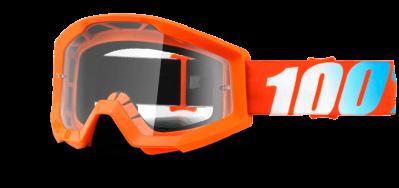 Купить Очки 100% Strata Orange / Clear Lens