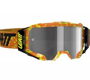 Купить Очки Leatt Velocity 5.5 Neon Orange/Light Grey