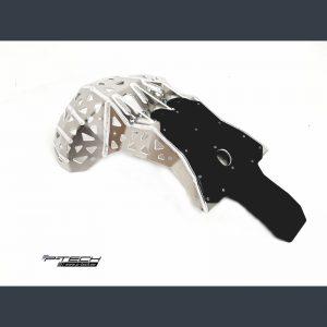 Купить Защита резонатора и картера с накладкой Beta RR 250/300 2020