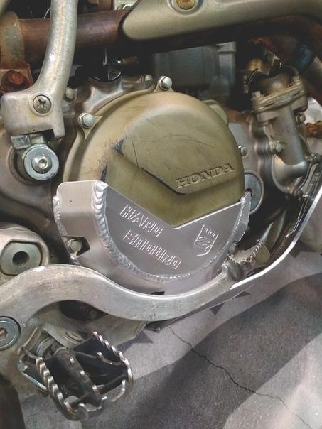 Купить Защита крышки сцепления Honda CRF 450X