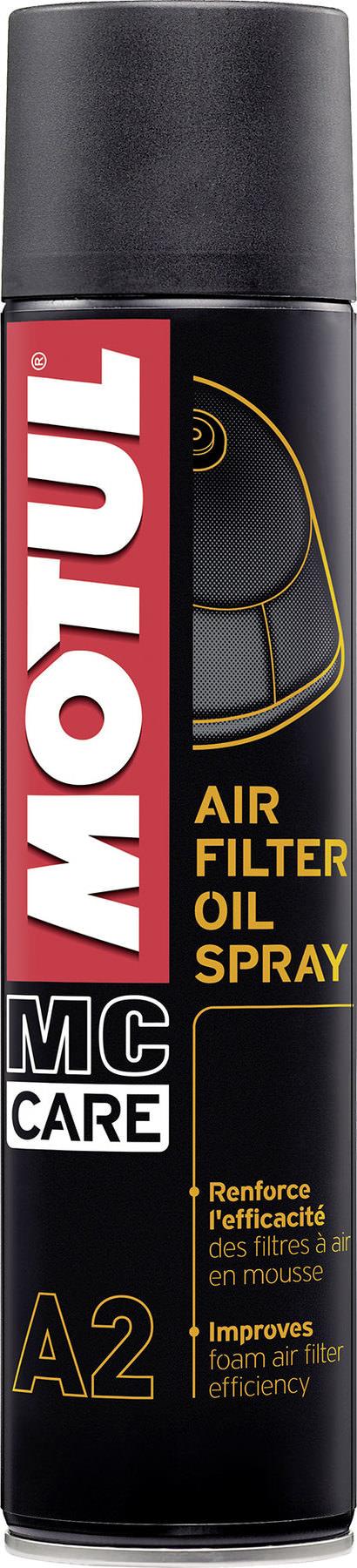 Купить Масло для пропитки воздушного фильтра Motul A2 Air Filter Spray 0,4 л.