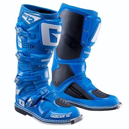 Купить Кроссовые мотоботы Gaerne SG 12 голубые