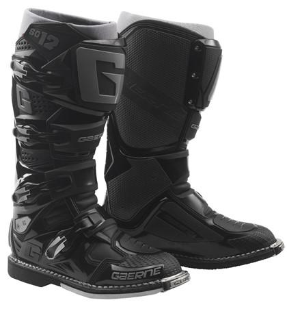 Купить Кроссовые мотоботы Gaerne SG 12 черные