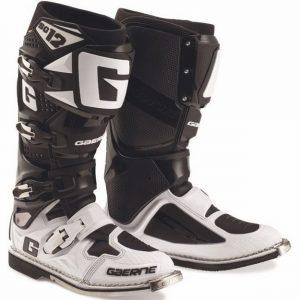 Купить Кроссовые мотоботы Gaerne SG 12 черно-белые