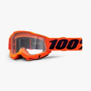 Купить Очки 100% Accuri 2 Goggle Orange / Clear Lens