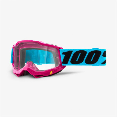 Купить Очки 100% Accuri 2 Goggle Lefleur / Clear Lens
