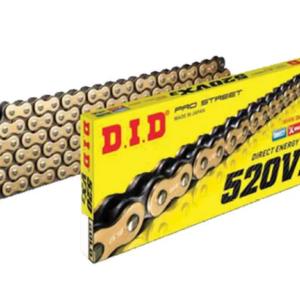 Купить Цепь приводная D.I.D 520VX3 (Х-ринг) золт/черн118 зв.