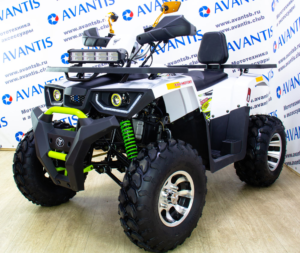 Купить КВАДРОЦИКЛ AVANTIS HUNTER 200 NEW PREMIUM (БАЛАНС. ВАЛ)