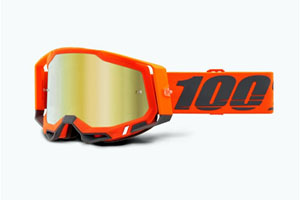 Купить Очки 100% Racecraft 2 Goggle Kerv / Mirror Gold Lens