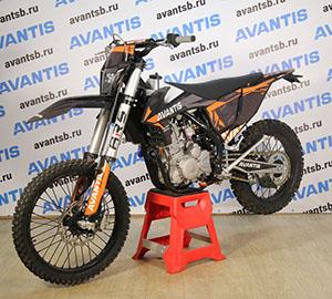 Мотоцикл Avantis Enduro 300 Carb (CBS300/174MN-3 Design KTM черный) ARS с ПТС